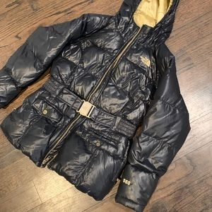 North face puffer jacket M 10-12 BLACK